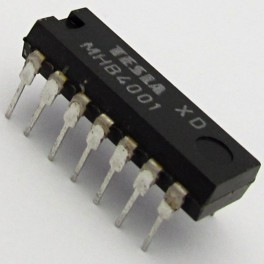MHB4001 (CD4001BE CD4001 4001) NOR Gates IC DIP-14