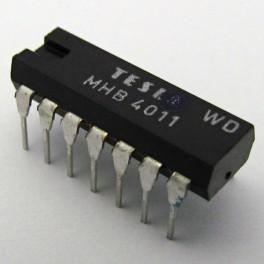 MHB4011 Tesla CD4011 TC4011 4011 14 DIP Quad 2-input CMOS NAND