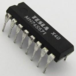 MH74S571 (SN74S571N) 2048 Bit (512 x 4) TTL PROM