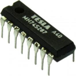 MH74S287 (SN74S287N) 1024 Bit (256 x 4) TTL PROM