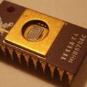 MHB8708C (I8708) EPROM TESLA Vintage Gold Ceramic